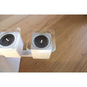Glasmanschetten , 4 tgl. für Tischleuchter Varius Ø bis 40 mm NEU