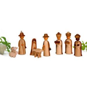 Miniaturen Figuren, natur 4,5cm NEU