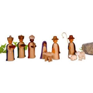 Miniaturen Figuren, farbig lasiert 4,5cm NEU