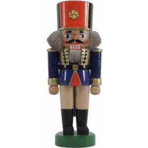 Nussknacker Soldat blau 17cm NEU