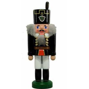 Miniatur - Nussknacker Bergmann schwarz 15cm NEU