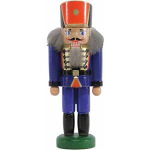 Miniatur - Nussknacker Soldat blau 14cm NEU