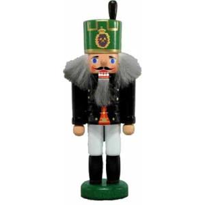 Miniatur - Nussknacker Bergmann Knappschaftsältester 13,5cm NEU