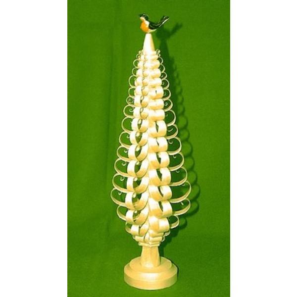 Tischdekoration Spanbaum mit Vogel Höhe ca 25 cm NEU