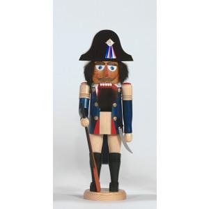 Nussknacker Napoleonischer Offizier 40 cm Erzgebirge Seiffen NEU