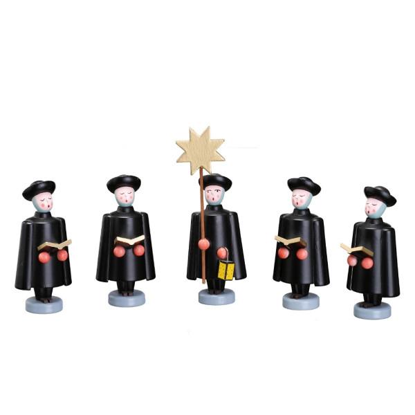 Weihnachtsfiguren Set Kurrendefiguren groß Höhe ca 10cm NEU