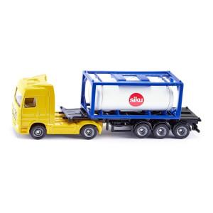 Siku 1795 LKW mit Tankcontainer 1:87 Siku Super NEU