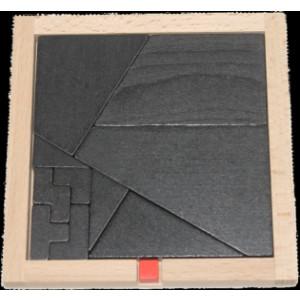 """Holzspielzeug Knobelspiel """"kleiner roter Würfel"""" BxHxT 13x13x1,2cm NEU"""