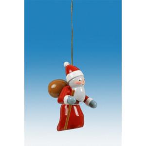 Baumbehang 3-teilig / Weihnachtsmann Höhe ca 6,5 cm NEU