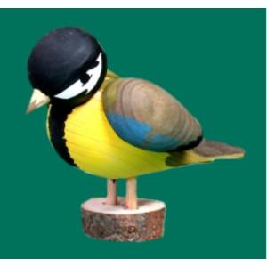 Vogel Kohlmeise Für den Aussenbereich geeignet Höhe ca 10 cm NEU