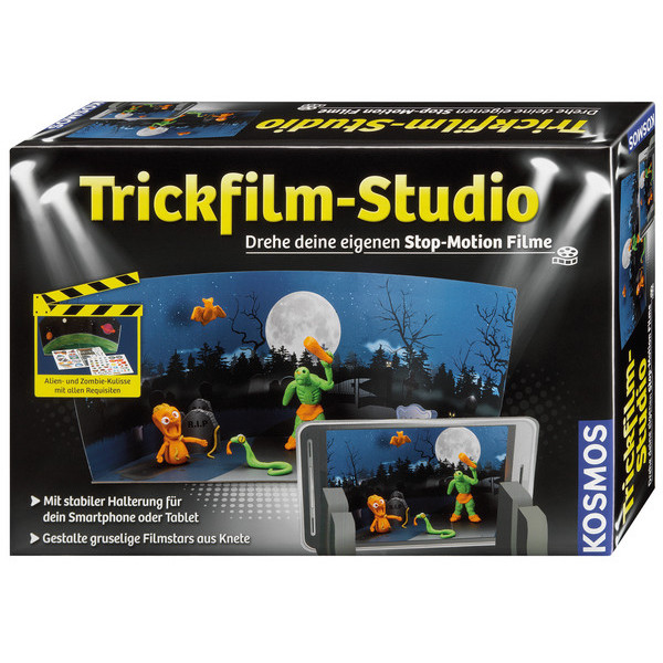 Kosmos 67602 Trickfilm-Studio Experimentierkasten NEU