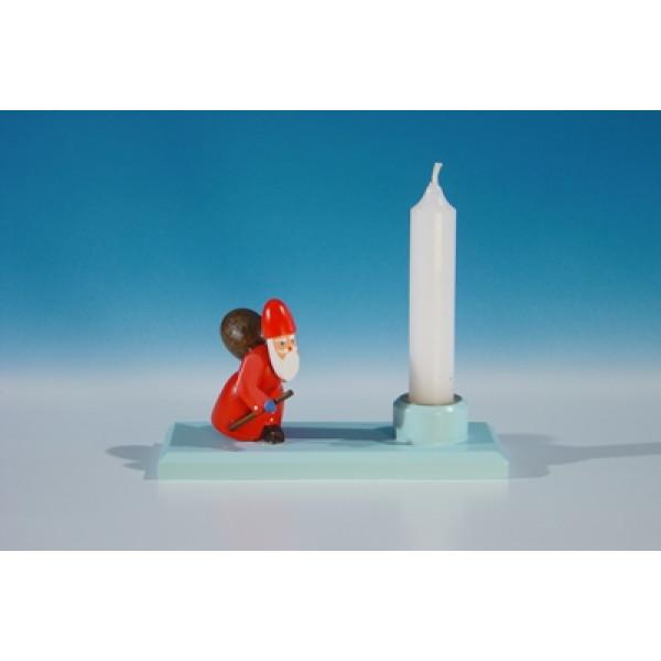 Kerzenhalter mit Ruprecht Länge ca 10,5 cm NEU