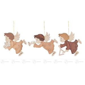 Baumschmuck Behang Engel (6) Breite x Höhe ca 6,5 cmx7 cm NEU