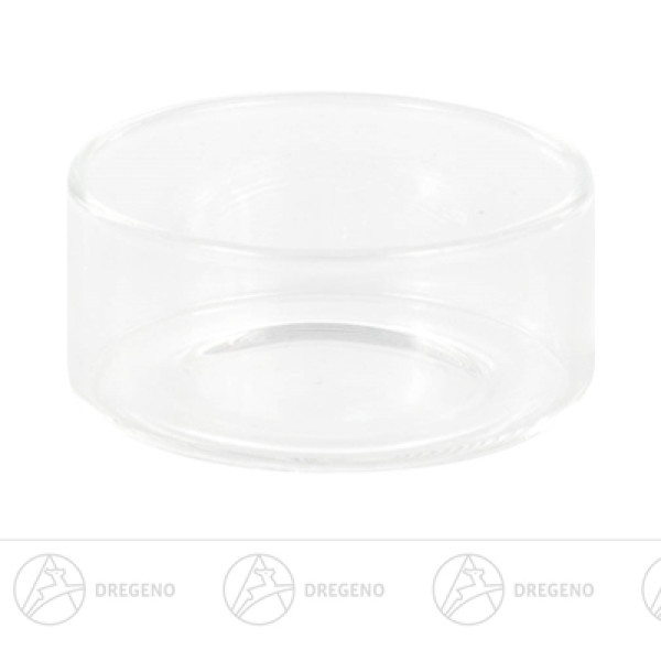Ersatzteile & Bastelbedarf Teelichthalter Glas Breite x Höhe x Tiefe 4,5 cmx2,1 cmx4,5 cm NEU