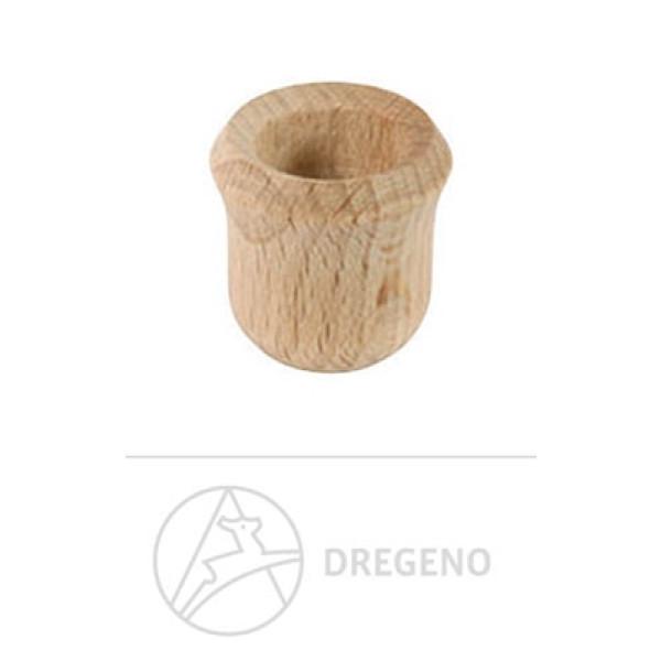 Ersatzteile & Bastelbedarf Holztülle Glockenform 20 Stück Breite x Höhe x Tiefe 2,4 cmx2,4 cmx2,4 cm NEU