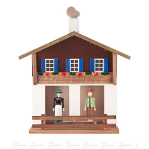 Haus Tiroler Wetterhaus Breite x Höhe x Tiefe 17 cmx19,5 cmx8 cm NEU