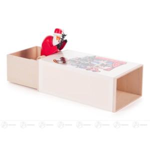 """Musikdose Musikdose """"Weihnachts-Box"""" mit Weihnachtsmann Höhe ca 6 cm NEU"""