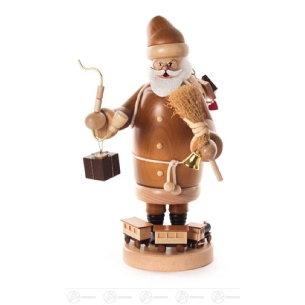 Räuchermann Weihnachtsmann natur Höhe ca 24,5 cm NEU