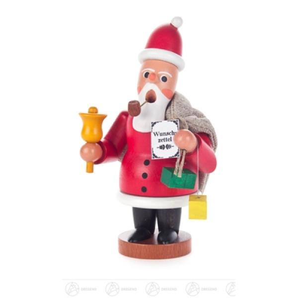 Räuchermann Weihnachtsmann mit Jutesack Breite x Höhe x Tiefe 7 cmx12 cmx6 cm NEU