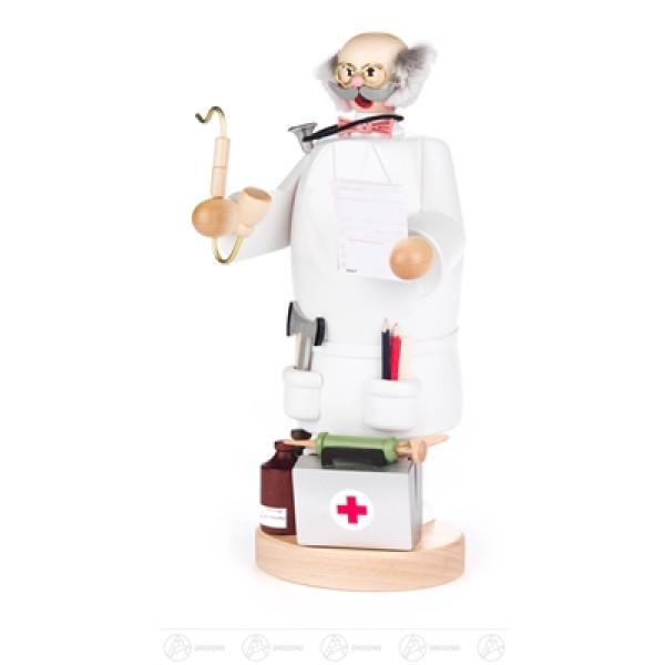 Räuchermann Arzt Breite x Höhe x Tiefe 11 cmx21,5 cmx11 cm NEU