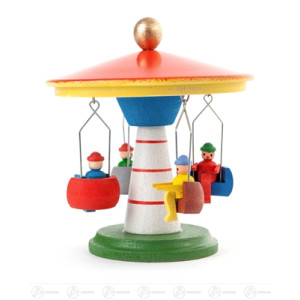 Spielzeug Kettenkarussell farbig Höhe ca 8 cm NEU