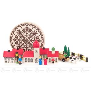Spielzeug Dorf in der Spandose (18) Höhe ca 7,5 cm NEU