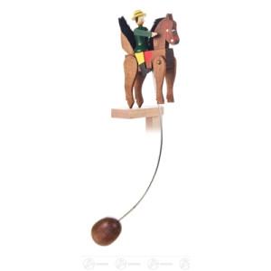 Spielzeug Wackelreiter groß Höhe ca 29 cm NEU