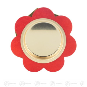 Teelichthalter Blume Breite x Höhe x Tiefe 7 cmx1,5 cmx7 cm NEU