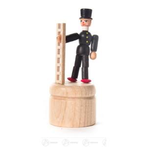Wackelfigur Wackelfigur Schornsteinfeger Höhe ca 8 cm NEU