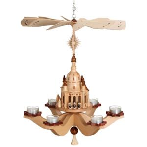 Hängepyramide Kurrende mit Frauenkirche HxLxB 47cmx38cmx38cm NEU