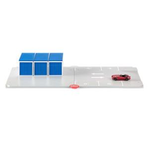 Siku 5589 Garagen und Parkplatz 1:50 Siku World Spielfläche Fertiggarage NEU