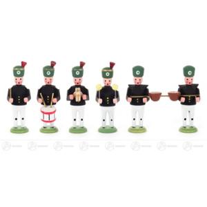 Figuren Miniatur-Bergaufzug Knappschaftskapelle 2 (6) Höhe = 40mm NEU