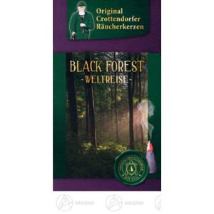 Räucherkerzen Crottendorfer Weltreise Black Forest Inhalt 20 Stück NEU