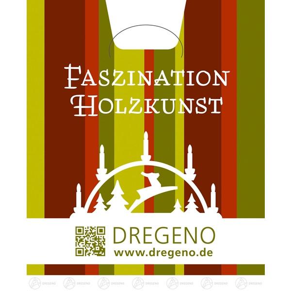 Tragetasche DREGENO Faszination Holzkunst BxH = 30x33,5cm NEU