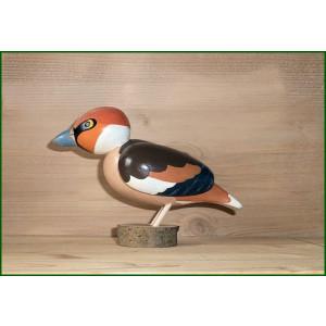 Vogel Kernbeiser Höhe ca 11 cm NEU