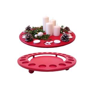 Dekoration Teelichthalter Außendurchmesser 45 cm, Höhe 6,5 cm. NEU