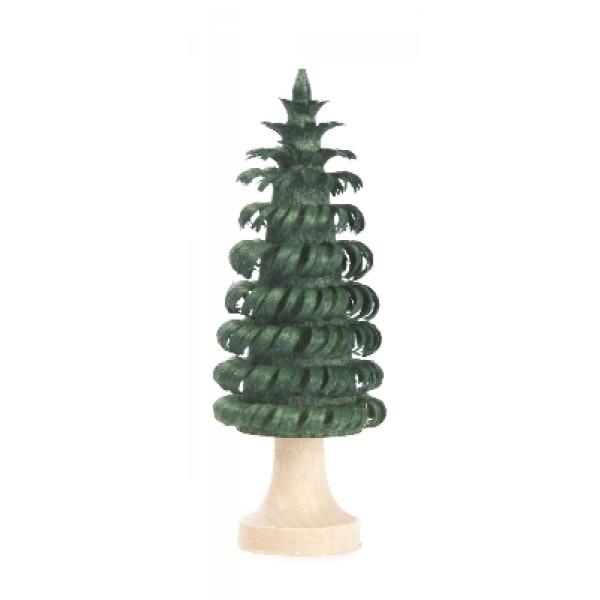 Tischdekoration Ringelbaum mit Stamm grün BxHxT 22x60x22mm NEU