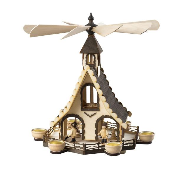 Hauspyramide Waldleute H x Ø 47x40cm NEU