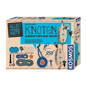 Experimentierkasten Basteln Knoten Abenteuer-Box 255x188x60mm (LxBxH) NEU