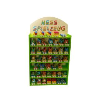 Verkaufsständer Warenständer für Buchstabenzug BxLxH 480x160x630mm NEU