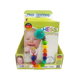 Babyspielzeug Display mit 10 Schnullerketten BxLxH 35x20x210mm NEU