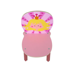Zimmerdekoration Kinderstuhl Prinzessin BxLxH 280x300x560mm NEU