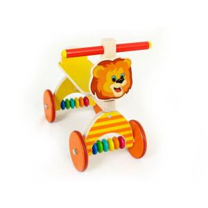 Holzspielzeug Rutscher Löwe gelb BxLxH 410x190x340mm NEU