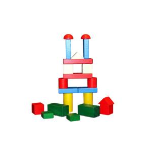 Holzspielzeug Baukasten große Blöcke BxHxT 26,5x18,5x4,5cm NEU