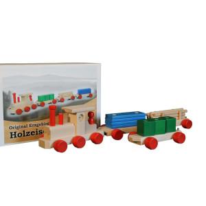 Eisenbahn farbig 75 cm NEU