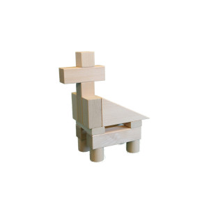 Holzspielzeug Baukasten Vario BxHxT 28,5x20x4,5cm NEU
