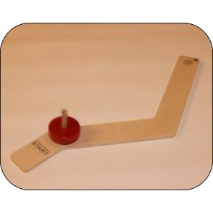 Holzspielzeug Kreiselbahn Kurve ca. 30 cm lang NEU