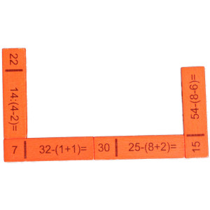 Lernspielzeug Rechendomino III BxHxT 20x16,5x3cm NEU