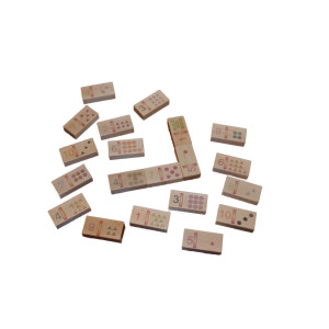 Lernspielzeug Zahlendomino BxHxT 58x29x14,5cm NEU