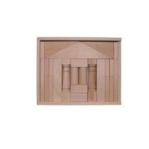 Holzspielzeug Baukasten Domizil natur BxHxT 28,5x22,5x4,5cm NEU